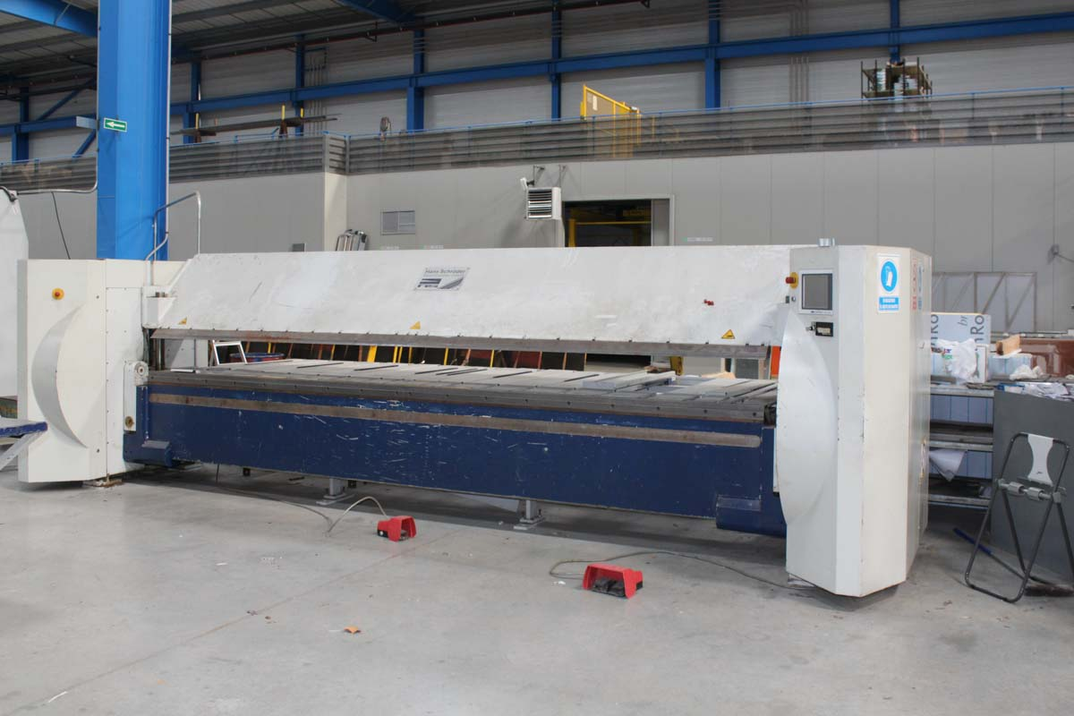 Paneladora automática CNC SCHRODER MAK 4 5000 / 3-0 (2003) id10215