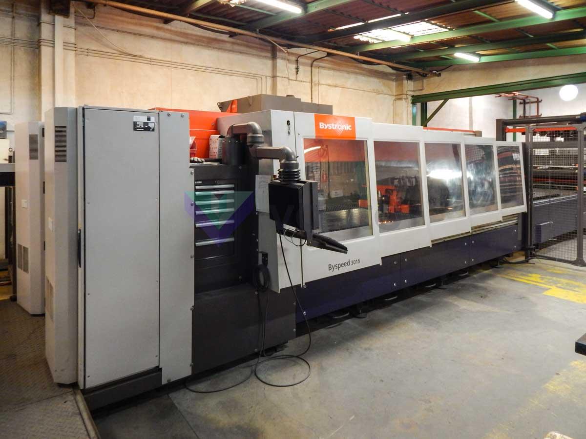 Máquina de corte láser (CO2) BYSTRONIC BYSPEED 3015 (2008) id10225