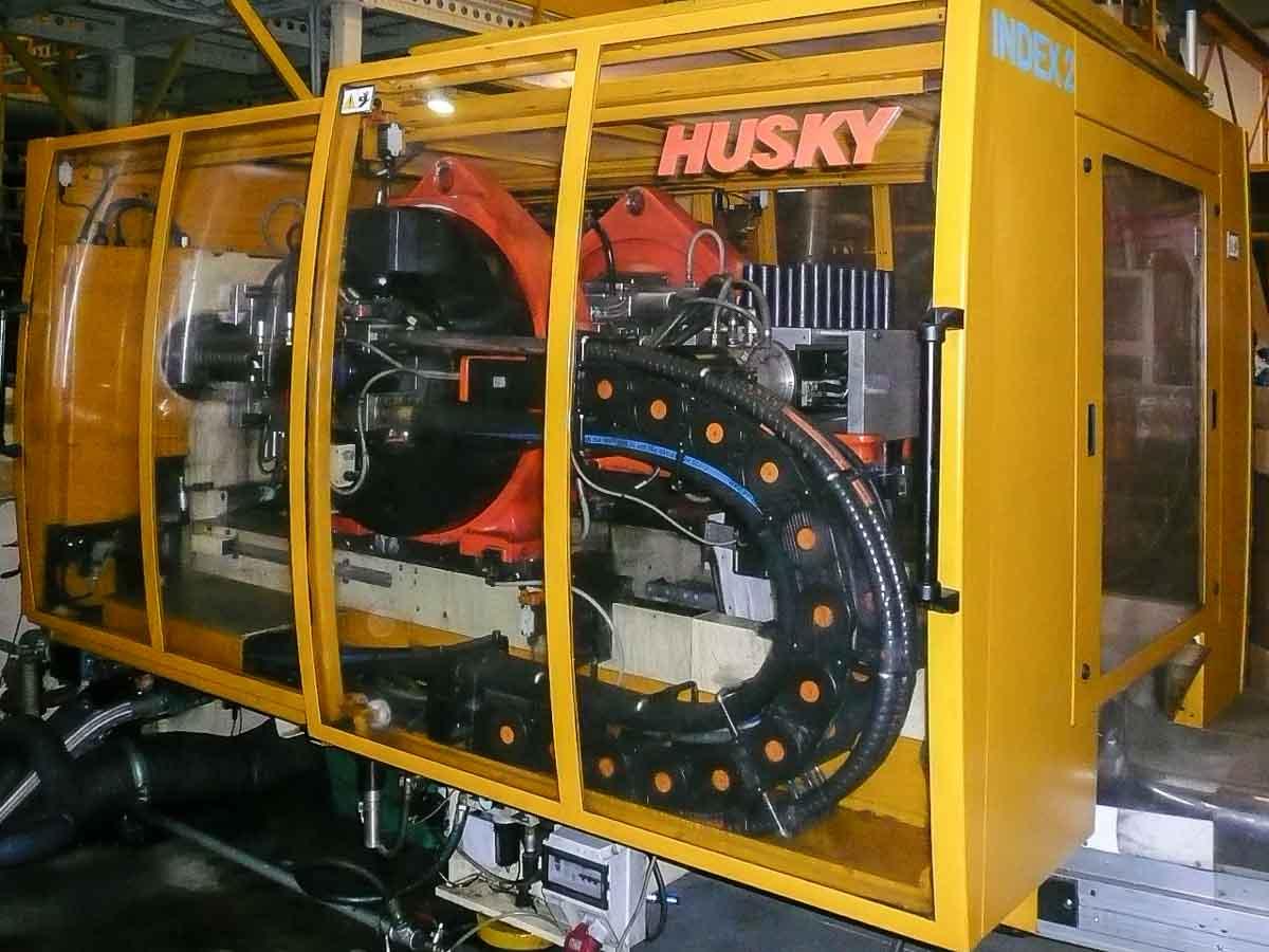 Máquina de moldeo por inyección de preformas PET HUSKY INDEX 90 PET RS80/80 (1999) id4880