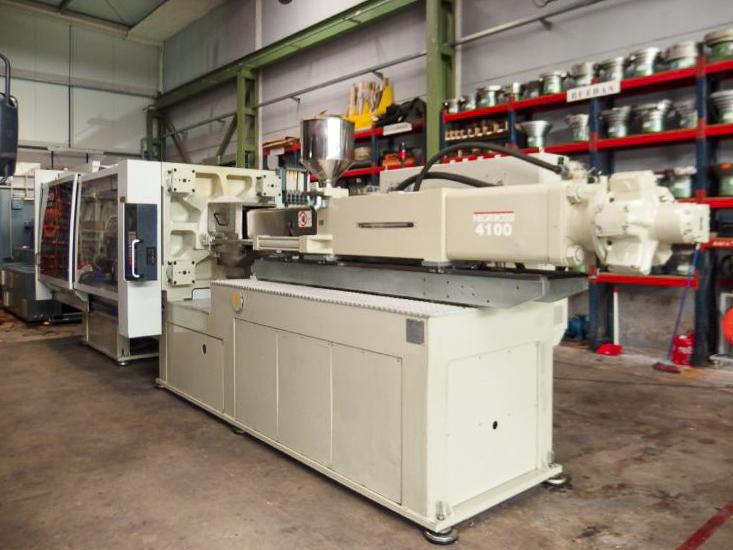 Máquina de moldeo por inyección de 400t NEGRI BOSSI CANBIO V480 - 4100 (2005) id10221