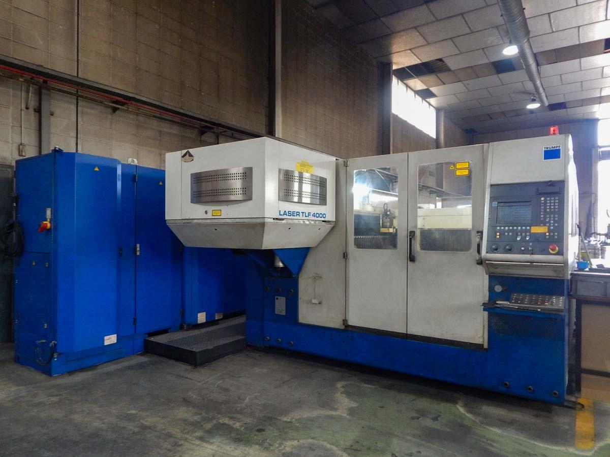 Máquina de corte láser (CO2) TRUMPF TRUMATIC L3030 (2002) id5667