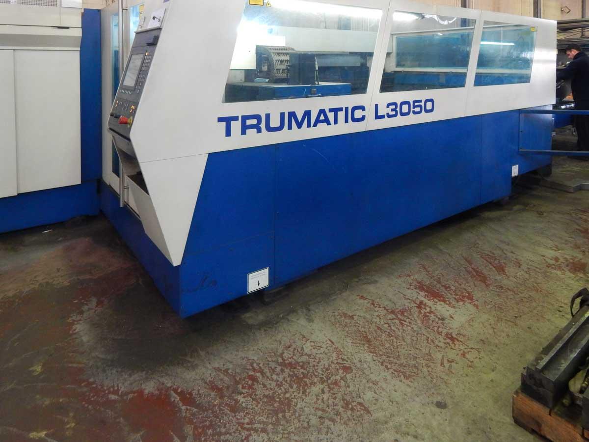 Máquina de corte láser (CO2) TRUMPF TRUMATIC L3050 (2002) id5463