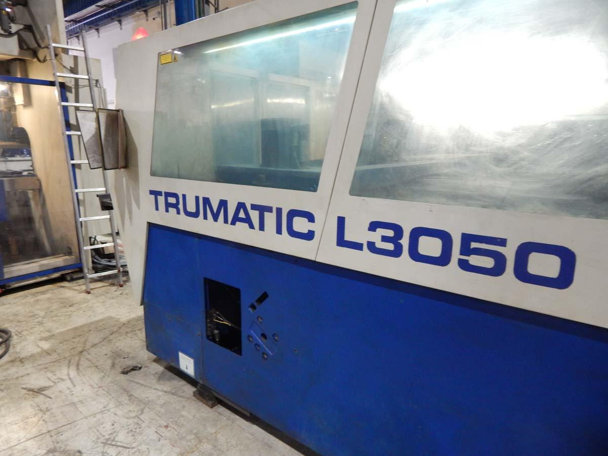 Máquina de corte láser (CO2) TRUMPF TRUMATIC L3050 (2003) id5434