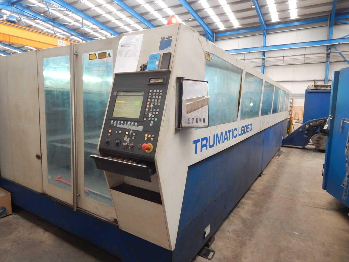 Máquina de corte láser (CO2) TRUMPF TRUMATIC L6050 (2004) id5576