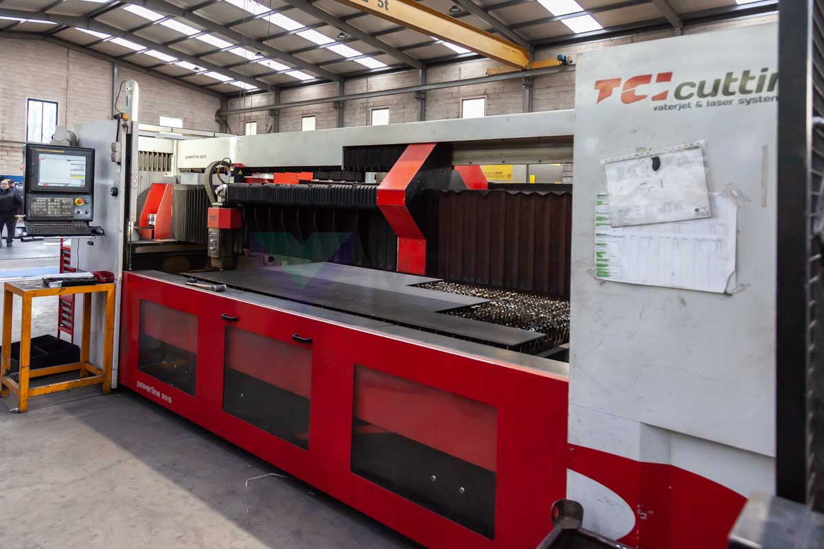 TCI POWERLINE CO2 3015 Laser cutting machine (CO2) (2010) id10140