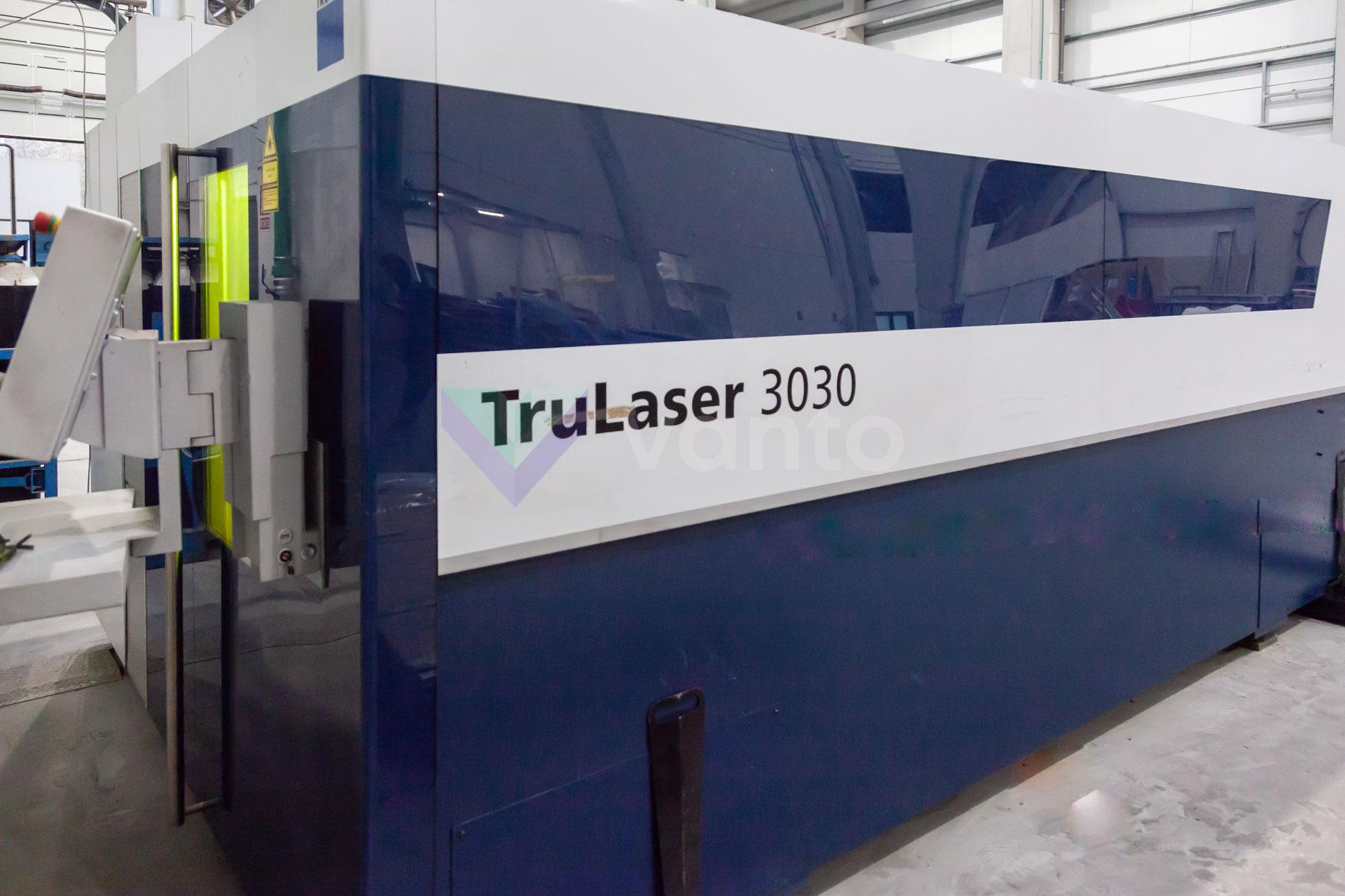 Máquina de corte láser (Fibra) TRUMPF TruLaser 3030 (2015) id10141