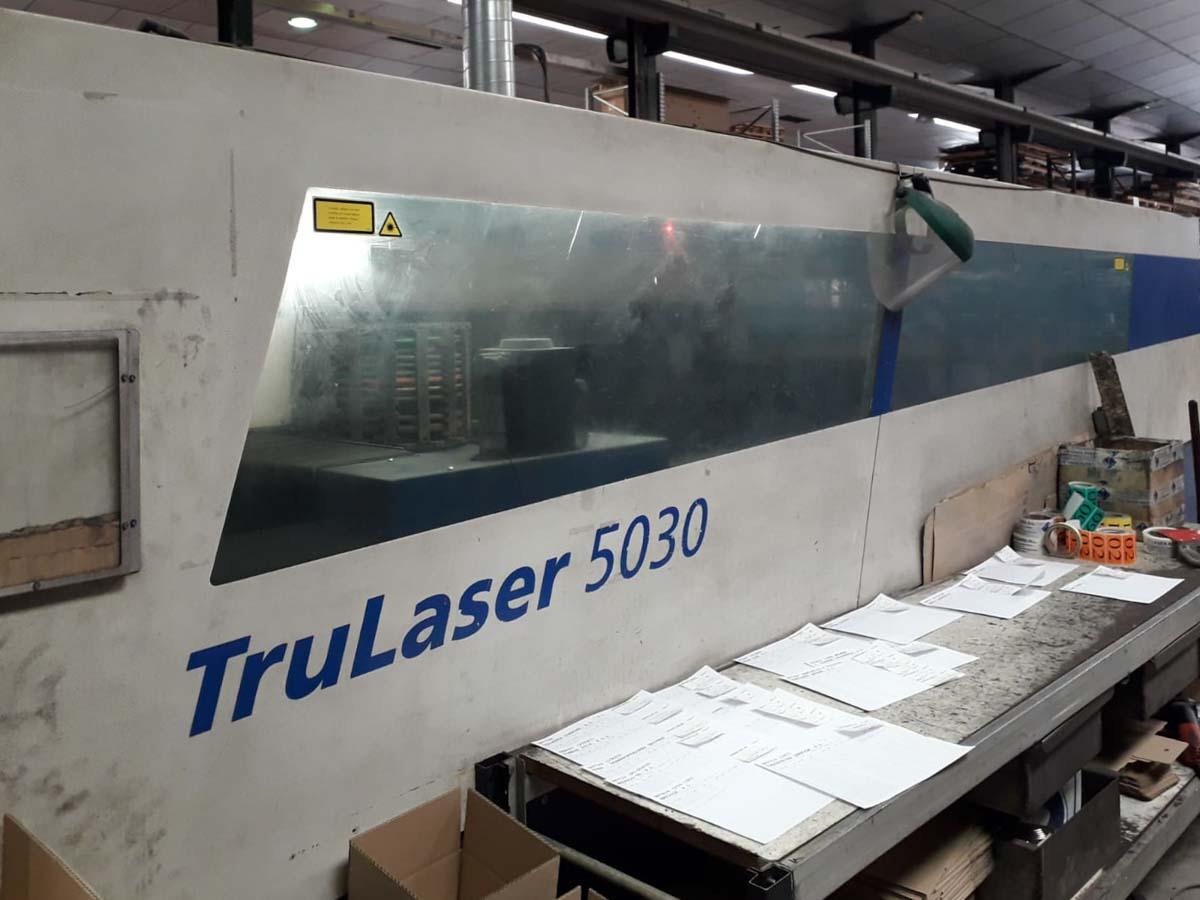 Máquina de corte láser (CO2) TRUMPF TruLaser 5030 (2007) id10245