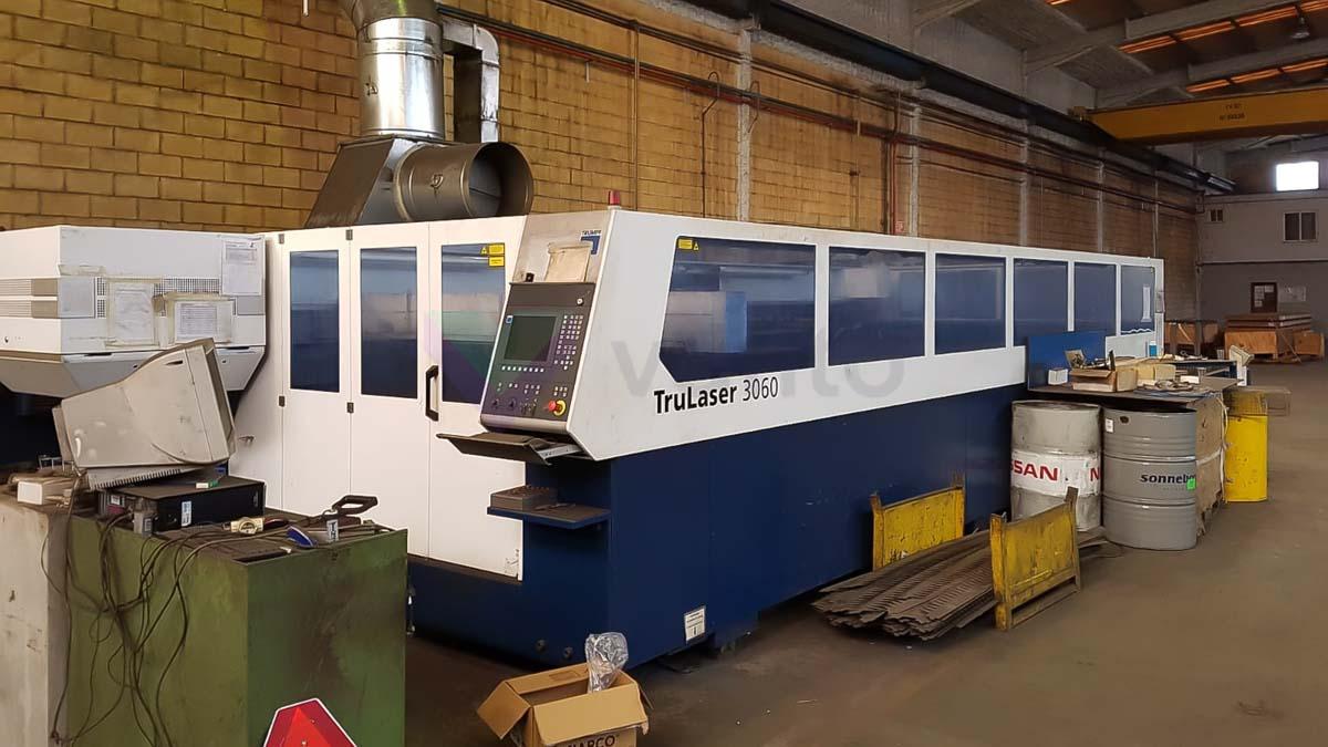 Máquina de corte láser (CO2) TRUMPF TruLaser 3060 (2011) id10153