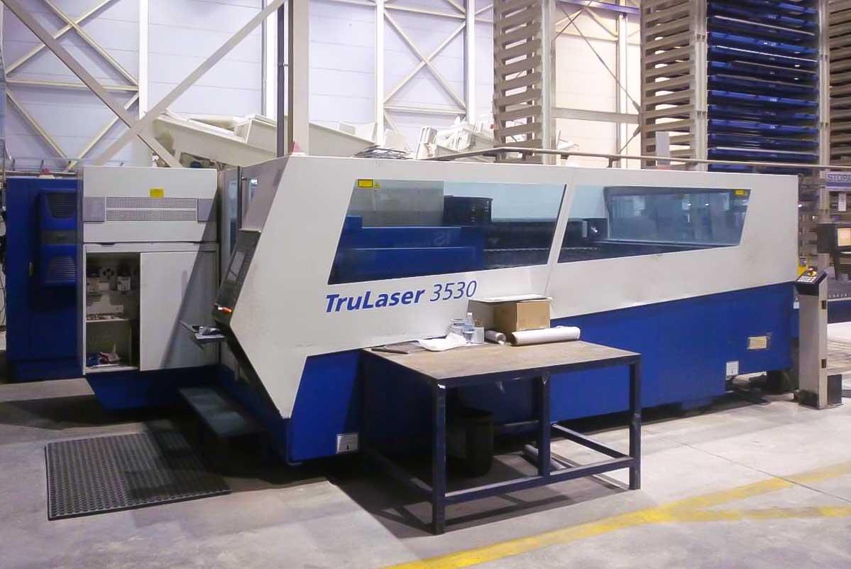 Máquina de corte láser (CO2) TRUMPF TRUMATIC L3530 (2008) id5589