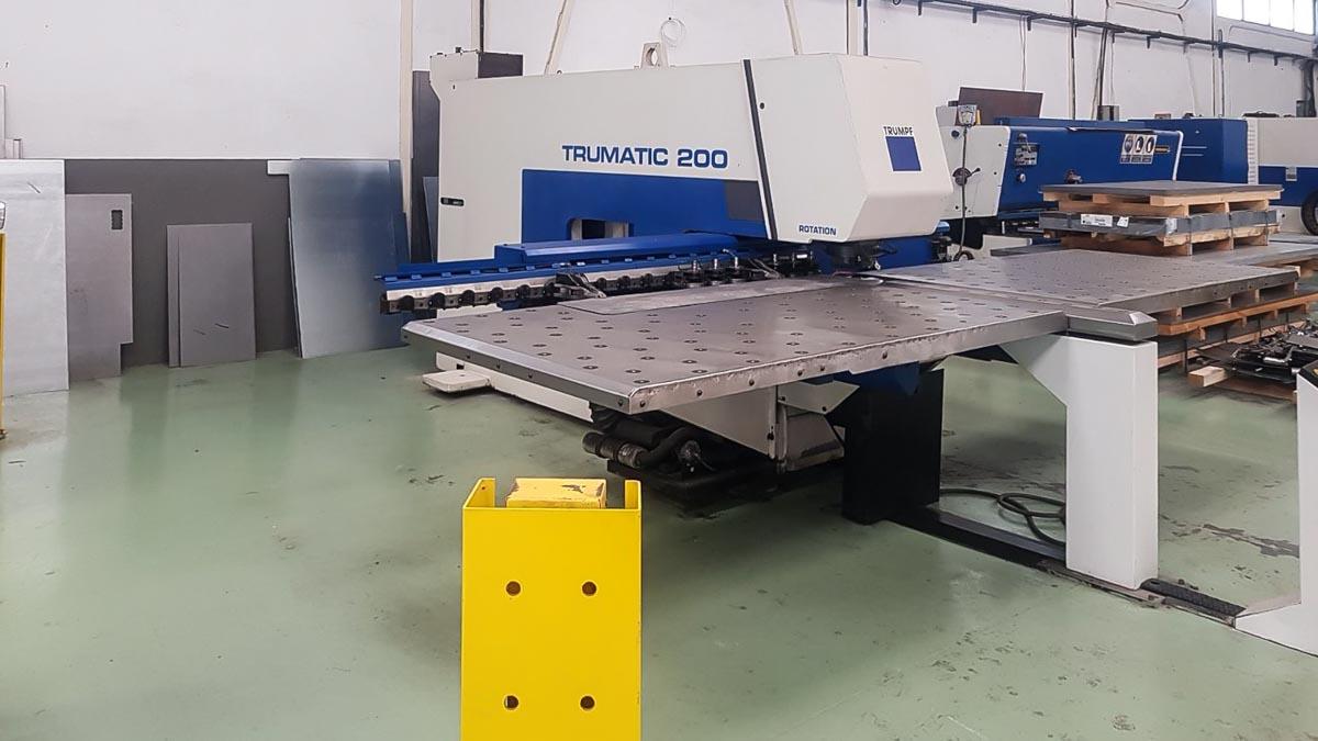 Punzonadora CNC TRUMPF TC 200 R (2001) id5590