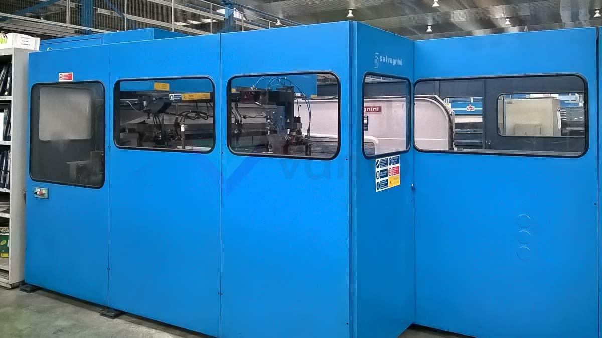 Paneladora automática CNC SALVAGNINI P4-2512 (2000) id10163