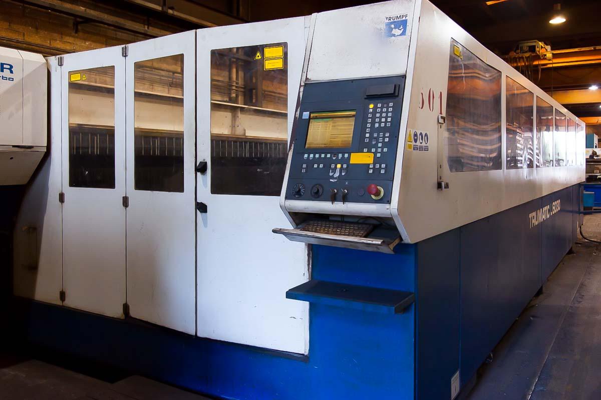 Máquina de corte láser (CO2) TRUMPF TRUMATIC L6030 (2000) id10100