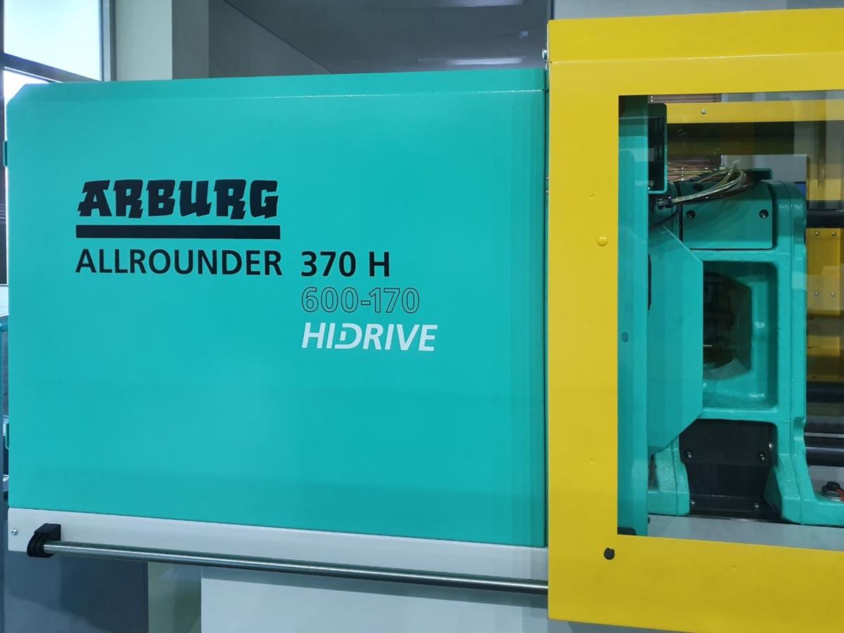 Máquina de moldeo por inyección de 60t ARBURG 370 H ALLROUNDER (2017) id10228