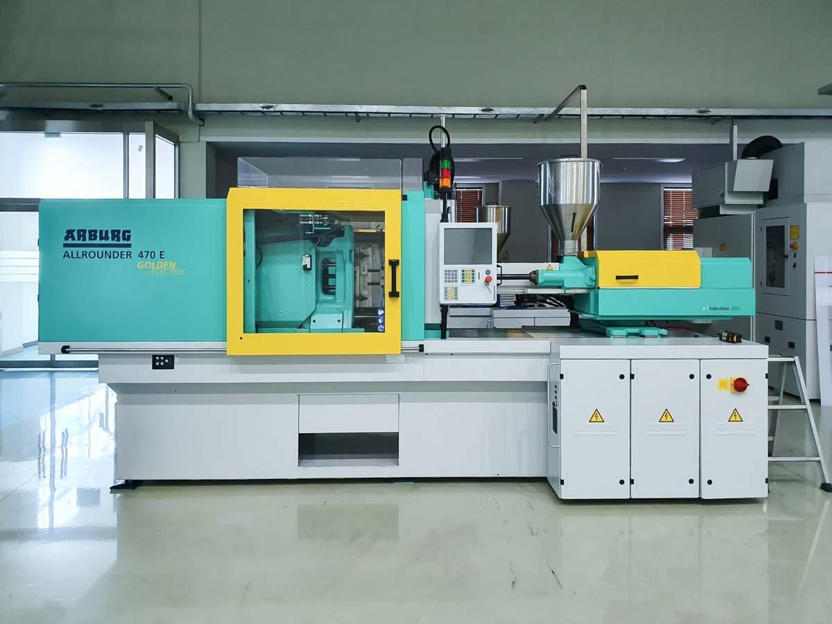 Máquina de moldeo por inyección de 100t completamente eléctrica ARBURG 470 E GOLDEN ELECTRIC (2017) id10229