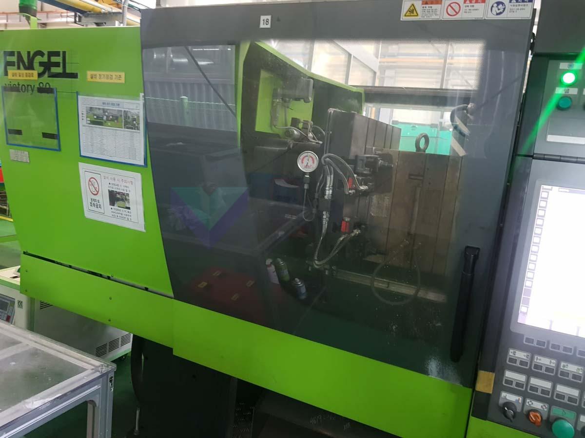 Máquina de moldeo por inyección de 80t ENGEL VICTORY VC 200 / 80 TECH PRO (2014) id10168
