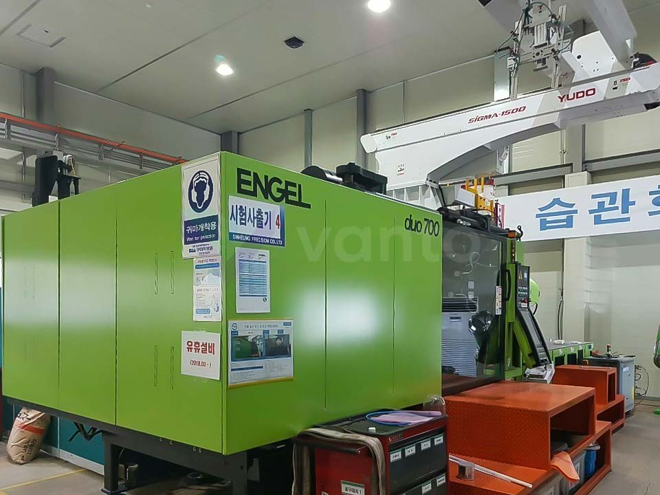 Máquina de moldeo por inyección de 700t ENGEL DUO 2050 / 700 PICO (2013) id10204