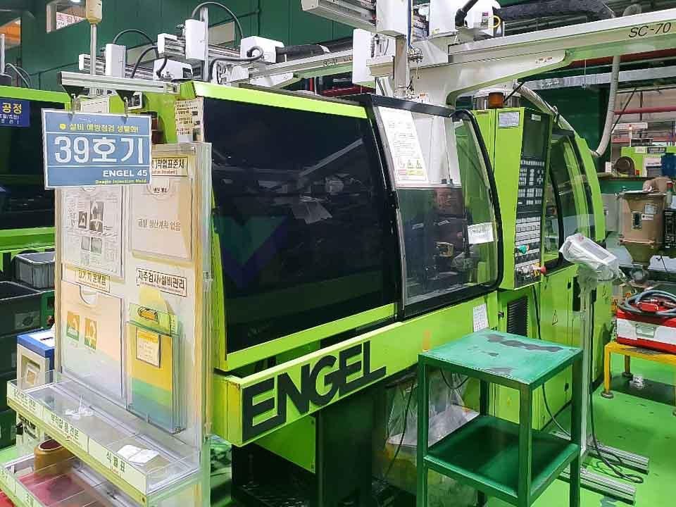Máquina de moldeo por inyección de 45t ENGEL ES 200 / 45 HL PRO SERIES (2003) id10122