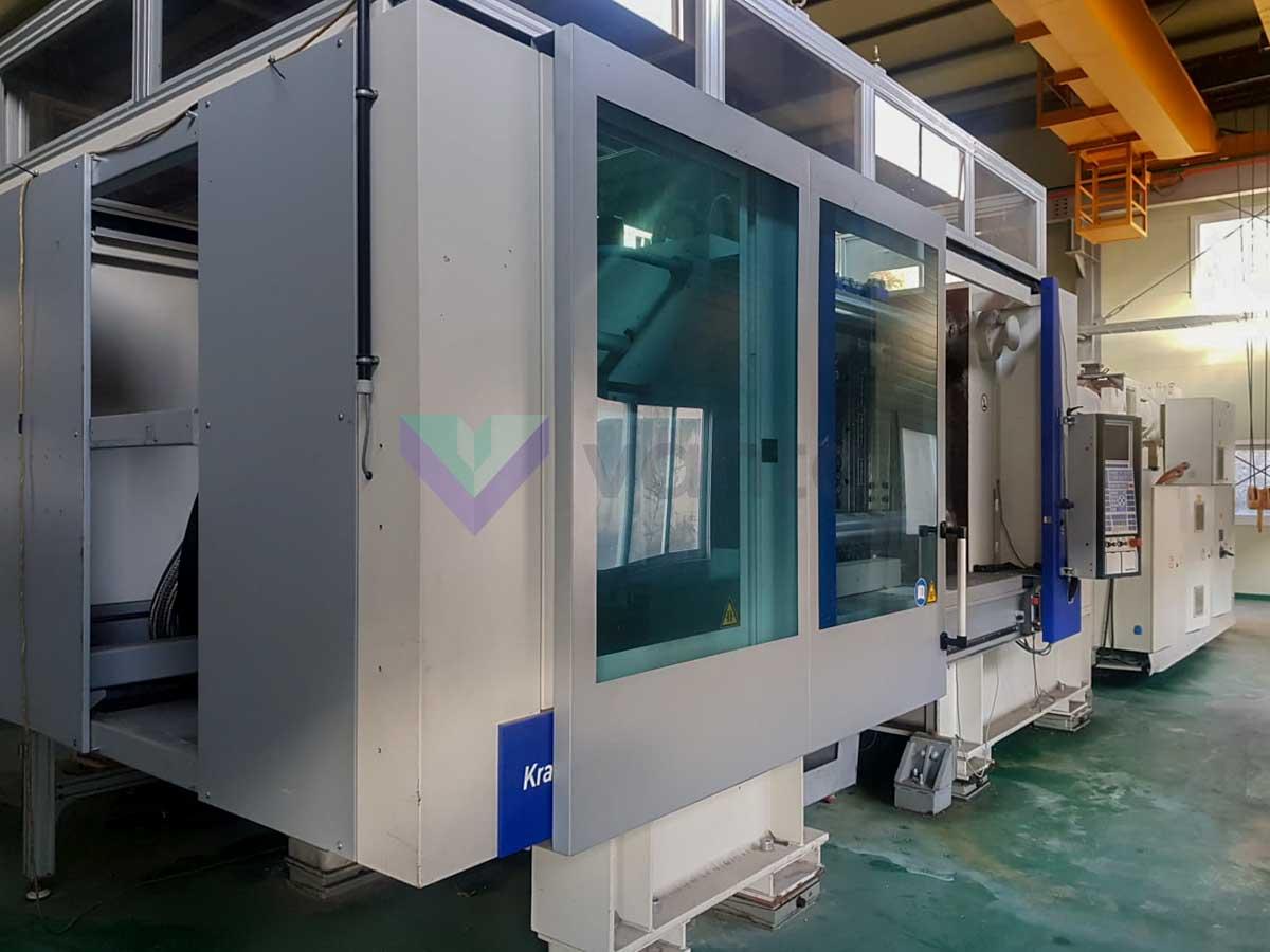 Máquina de moldeo por inyección de preformas PET KRAUSS MAFFEI KM 450-4500 CS PET (2010) id10259