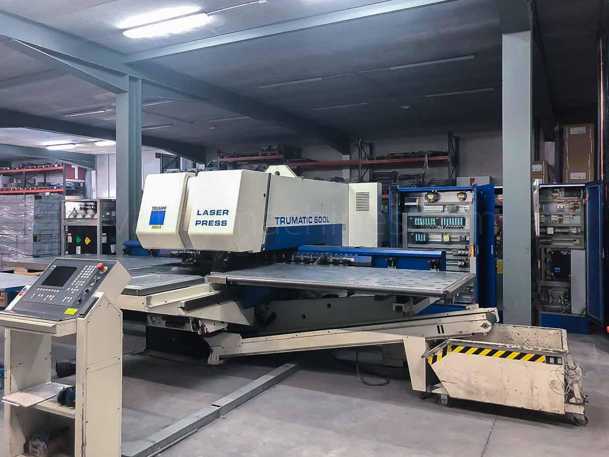 Punzonadora combinada laser (CO2) TRUMPF TC 600 L - 1300 (2000) id10116
