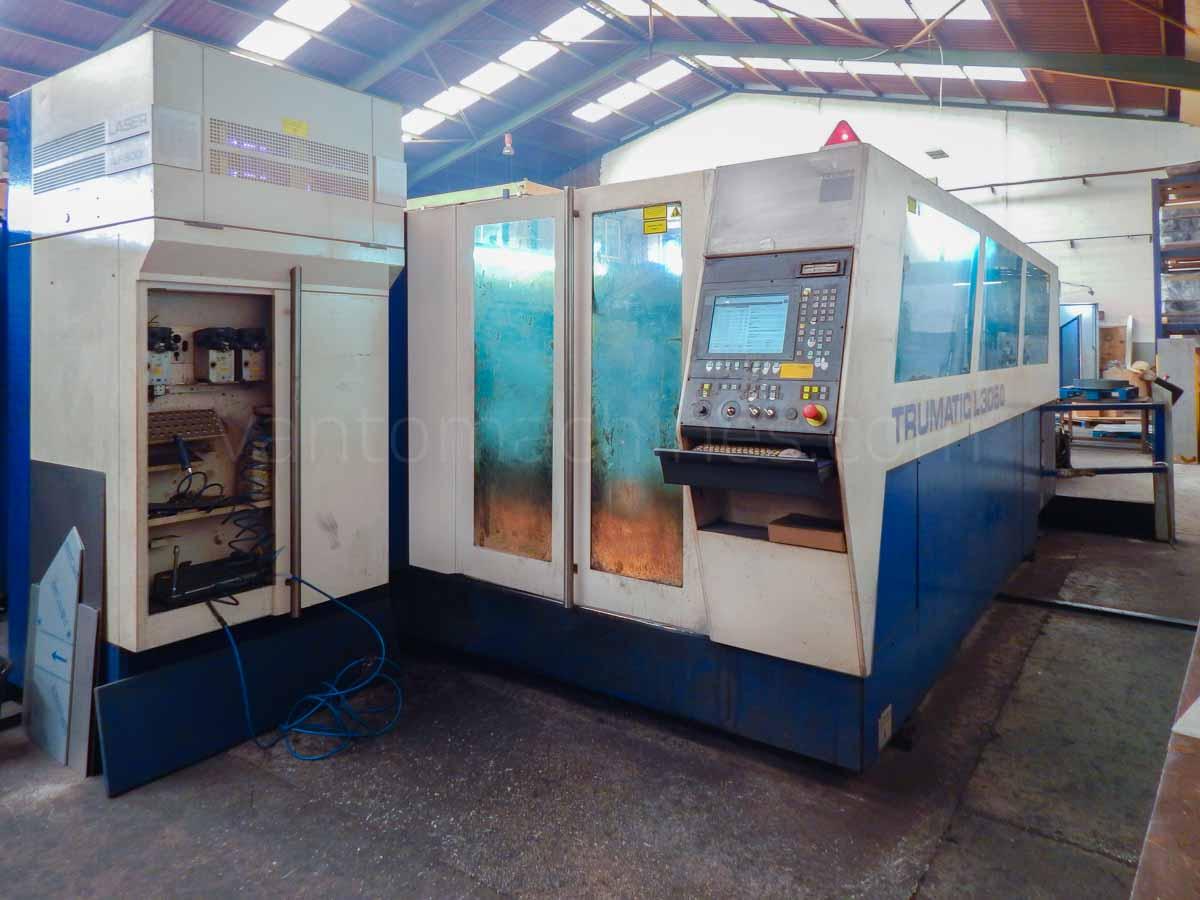 Máquina de corte láser (CO2) TRUMPF TRUMATIC L3050 (2004) id10120