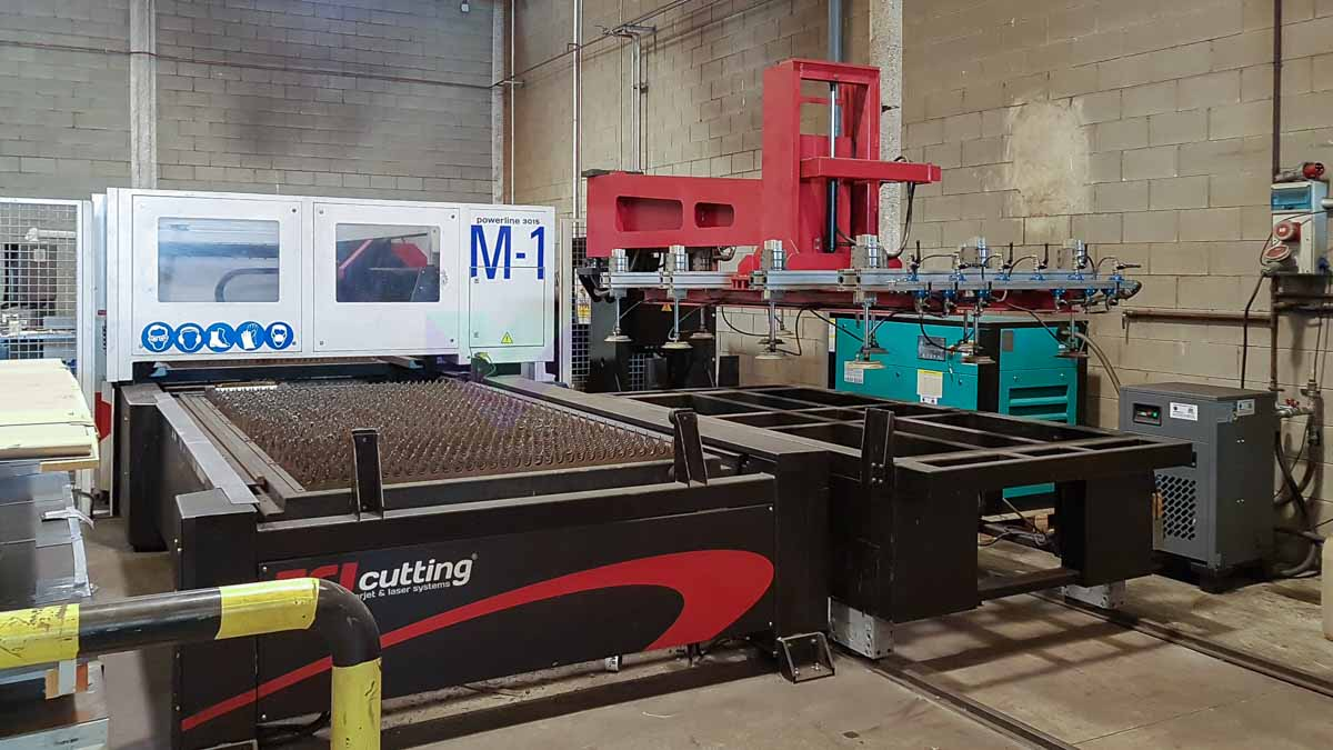 TCI POWERLINE CO2 3015 Laser cutting machine (CO2) (2013) id10152