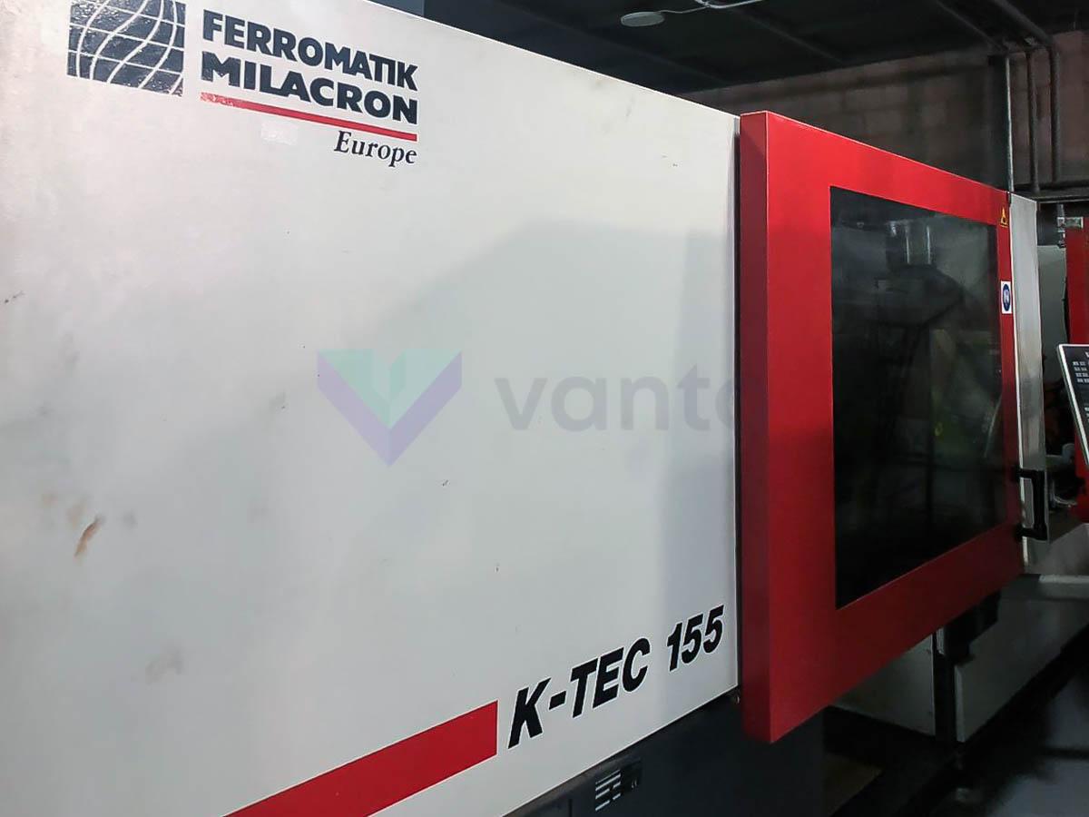 Machine de moulage par injection 155t FERROMATIK K 155 (2010) id10155