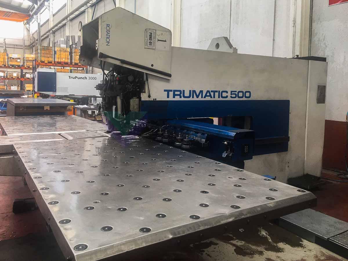 Punzonadora CNC TRUMPF TC 500 R (1998) id10177