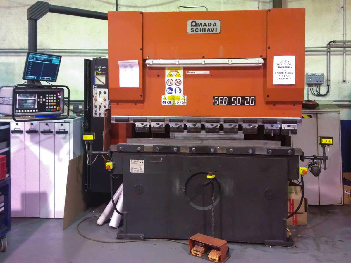 Plegadora CNC SCHIAVI SEB 50-20 AE (2001) id5308