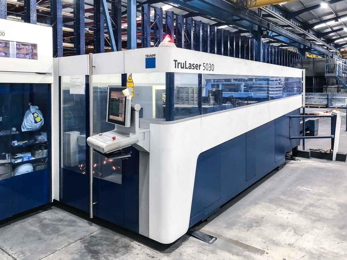 Máquina de corte láser (CO2) TRUMPF TruLaser 5030 (2014) id10187