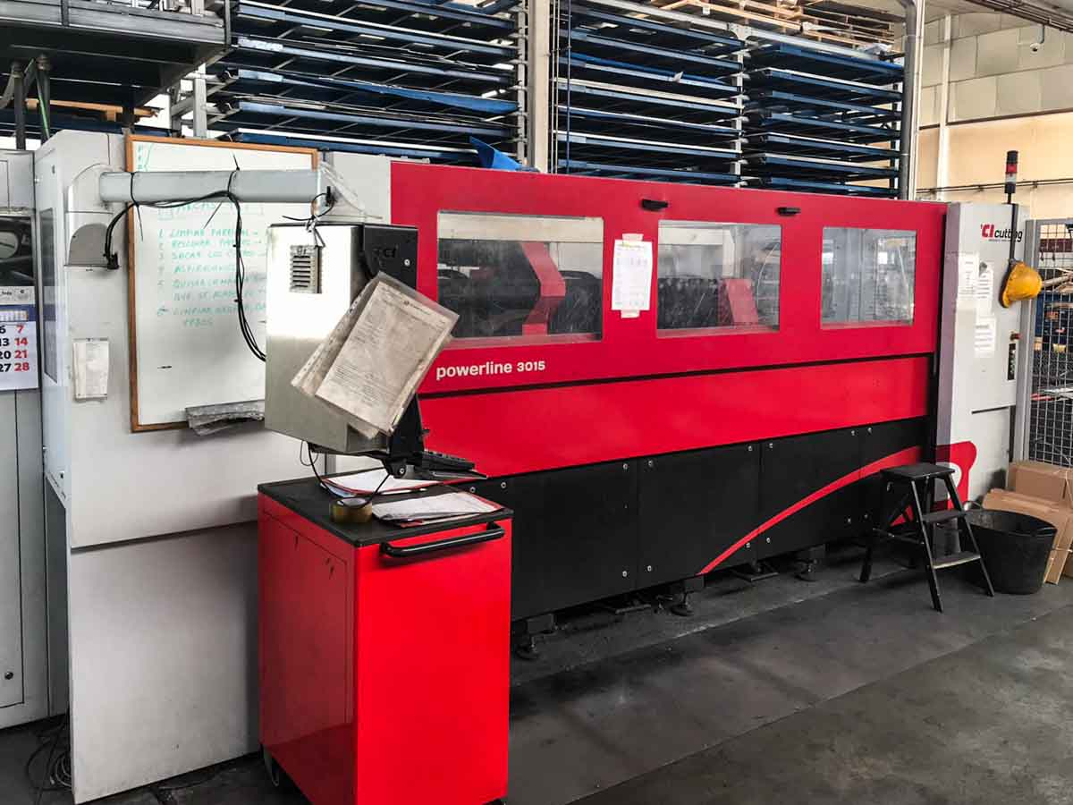 TCI POWERLINE CO2 3015 Laser cutting machine (CO2) (2014) id10212