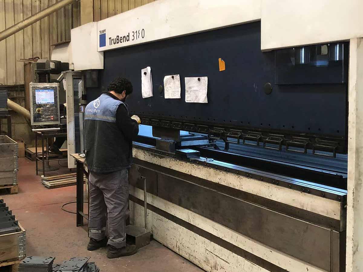 Plegadora CNC TRUMPF TruBend 3180 (2011) id10239