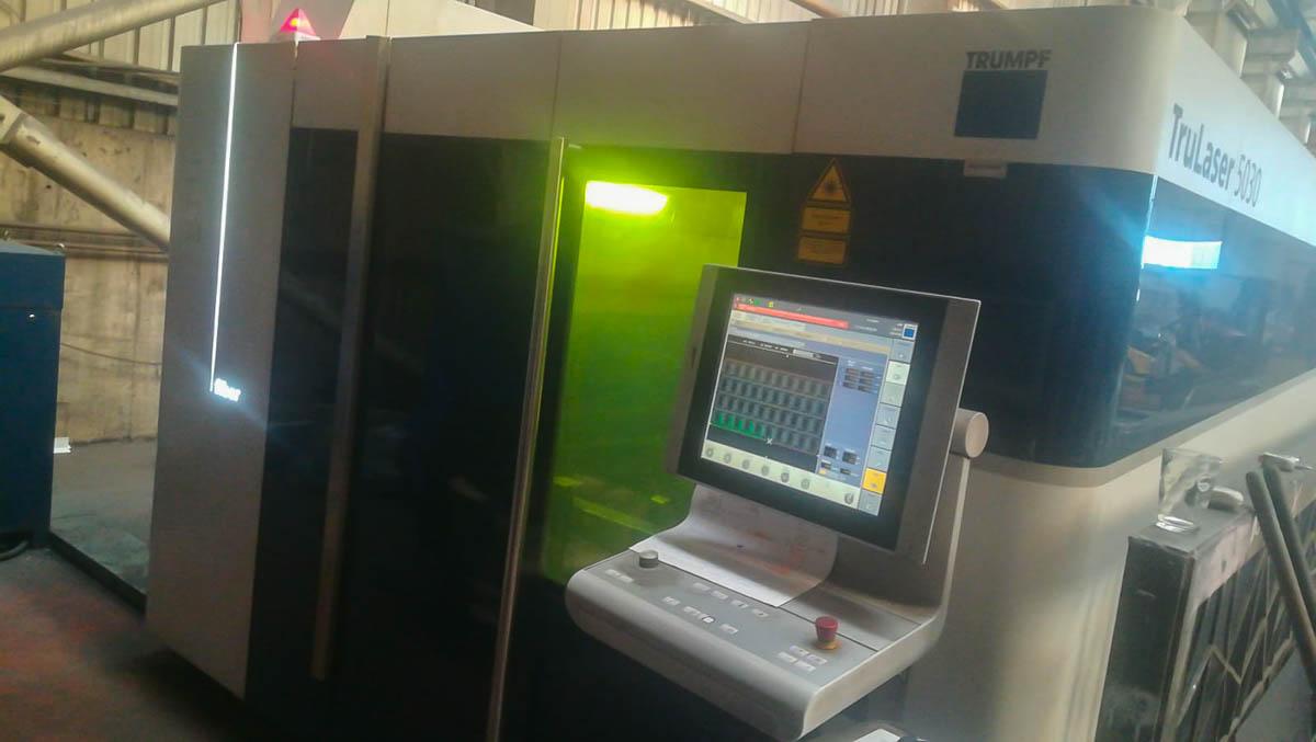 Máquina de corte láser (Fibra) TRUMPF TruLaser 5030 (2014) id10241