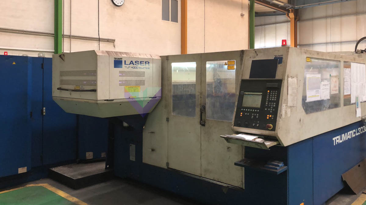 TRUMPF TRUMATIC L3030 Laser cutting machine (CO2) (2000) id10257